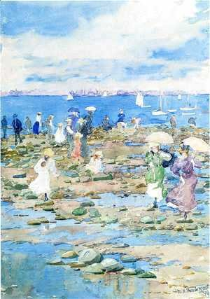 Maurice Brazil Prendergast - Summer Visitors