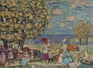 Maurice Brazil Prendergast - Peaches Point