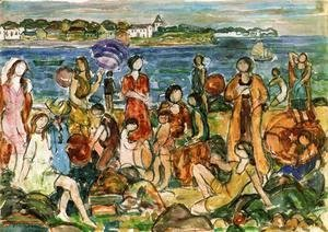 Maurice Brazil Prendergast - Bathers, New England