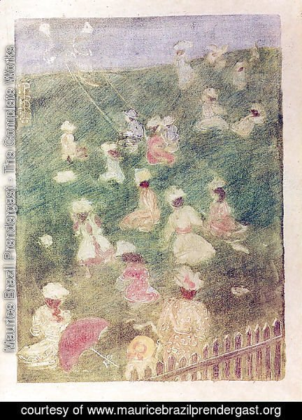 Maurice Brazil Prendergast - Children at Play