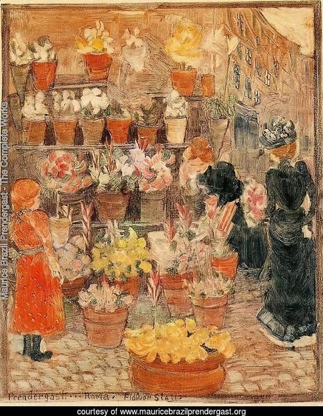 Roma, Flower Stall (also known as Flower Stall or Roman Flower Stall)