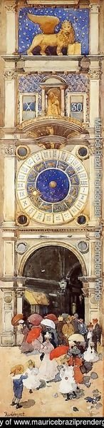 St. Mark's Square, Venice (The Clock Tower)