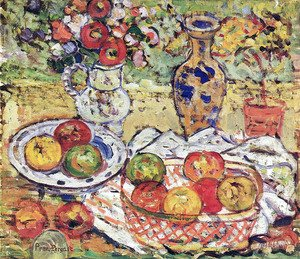 Maurice Brazil Prendergast - Still Life With Apples 2