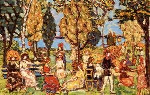 Maurice Brazil Prendergast - In the Park 1914-1916