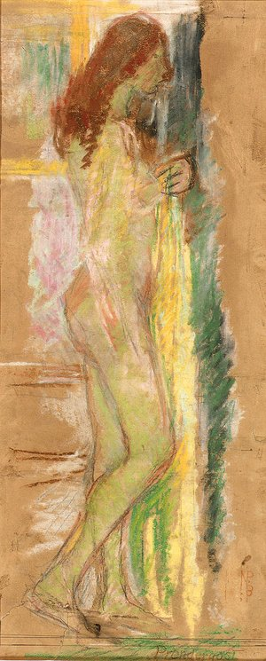 Maurice Brazil Prendergast - Standing Nude with Red Hair