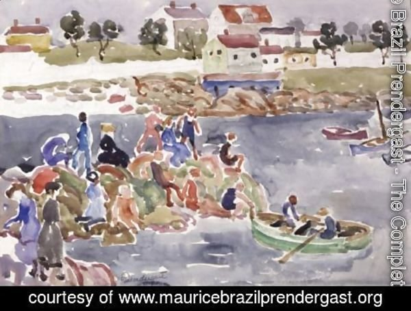 Maurice Brazil Prendergast - The Cove 2