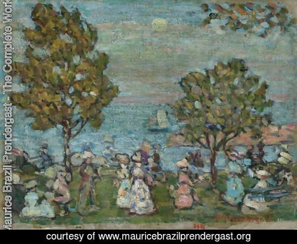 Late Afternoon (Moonlight At Marblehead)