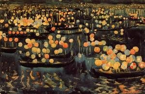 Maurice Brazil Prendergast - Feast of the Redeemer
