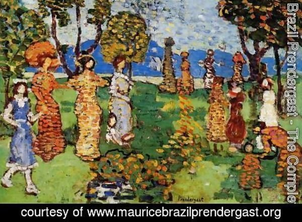 Maurice Brazil Prendergast - A Day In The Country