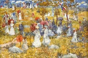 Maurice Brazil Prendergast - At The Park