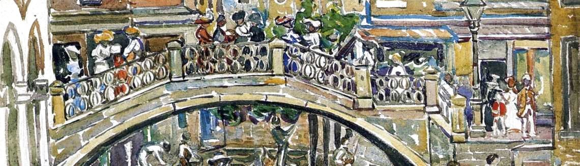 Maurice Brazil Prendergast - Canal