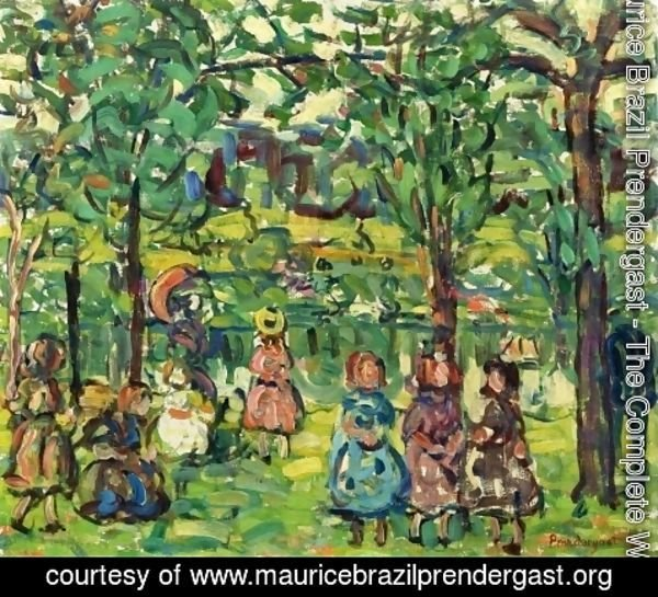 Maurice Brazil Prendergast - Children In The Park