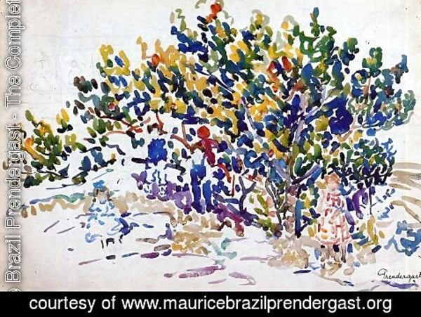 Maurice Brazil Prendergast - Children In The Tree