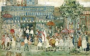 Maurice Brazil Prendergast - Columbus Circle (New York)