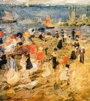 Maurice Brazil Prendergast - Early Beach