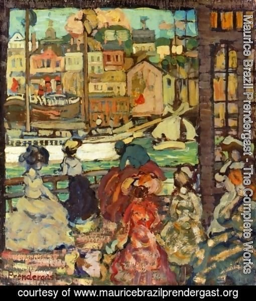 Maurice Brazil Prendergast - East Boston Ferry