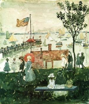 Maurice Brazil Prendergast - Excursionists  Nahant