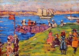 Maurice Brazil Prendergast - Harbor  Afternoon