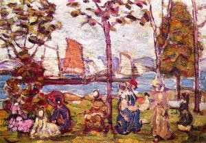 Maurice Brazil Prendergast - In The Park2