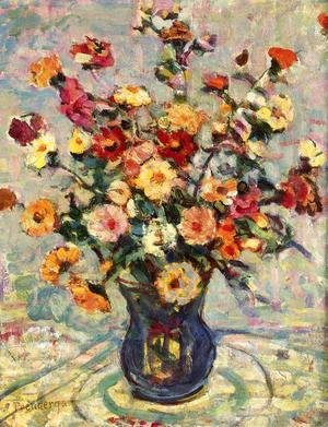 Maurice Brazil Prendergast - Still Life With Flowers