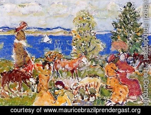 Maurice Brazil Prendergast - Summer Afternoon
