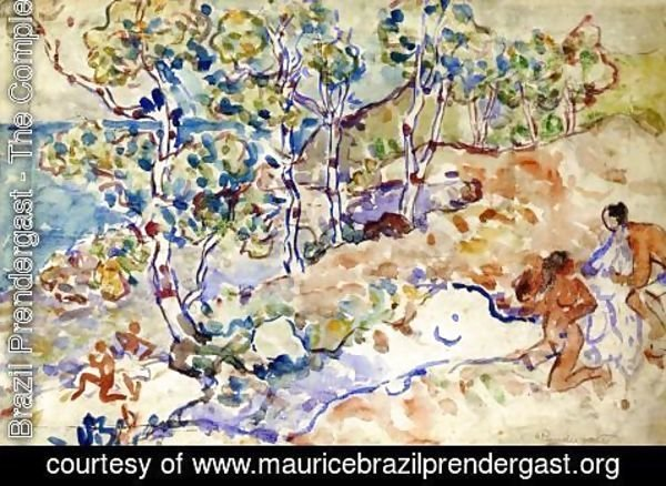 Maurice Brazil Prendergast - Summer Outing