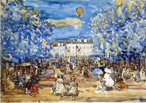 Maurice Brazil Prendergast - The Balloon2