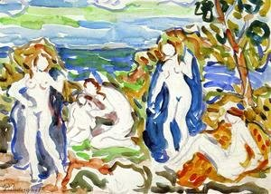 Maurice Brazil Prendergast - The Bathers