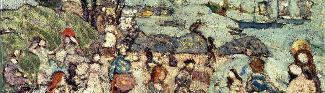 Maurice Brazil Prendergast - The Bathing Cove