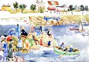 Maurice Brazil Prendergast - The Cove2