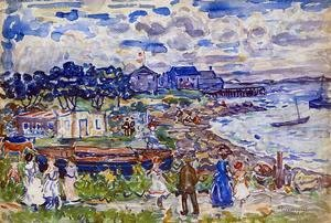 Maurice Brazil Prendergast - The Cove3