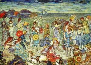 Maurice Brazil Prendergast - The Cove4