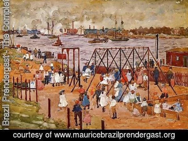 Maurice Brazil Prendergast - The East River