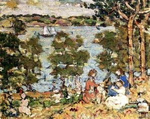 Maurice Brazil Prendergast - The Inlet2