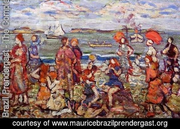 Maurice Brazil Prendergast - The Inlet3