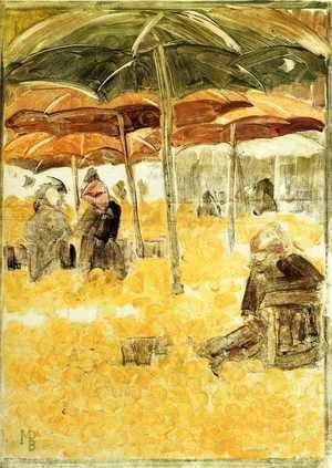 Maurice Brazil Prendergast - The Orange Market