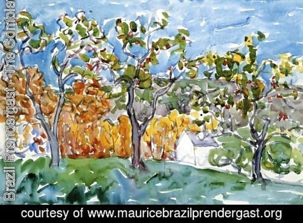 Maurice Brazil Prendergast - The Orchard
