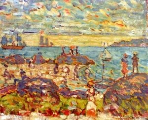 Maurice Brazil Prendergast - The Point  Gloucester