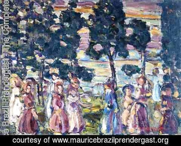 Maurice Brazil Prendergast - The Sunday Scene